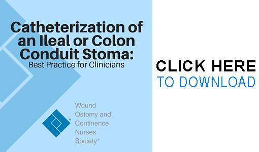 Catheterization of an Ileal or Colon Conduit Stoma