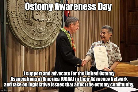Dan Shockley Ostomy Awareness Day