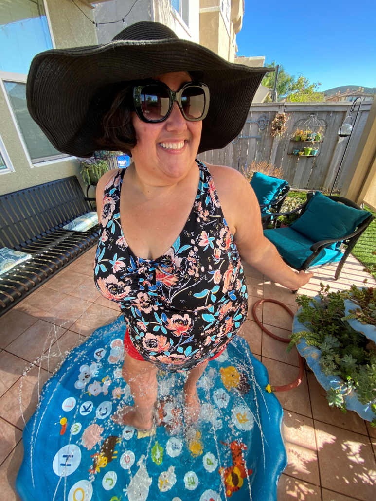 ostomy pool side